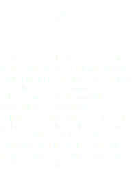 Welcome We are a full service hair salon that caters to each client's unique style and personality. Escape into a world of total comfort, relaxation, and rejuvenation. Treat yourself to a luxurious experience...you deserve it! Our full service salon will make your stress fade away into a distant memory. Our friendly, staff will pamper you, renewing your mind, body, and soul.